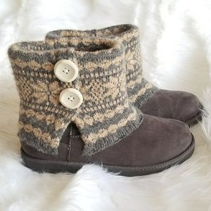 Knit Winter Boots